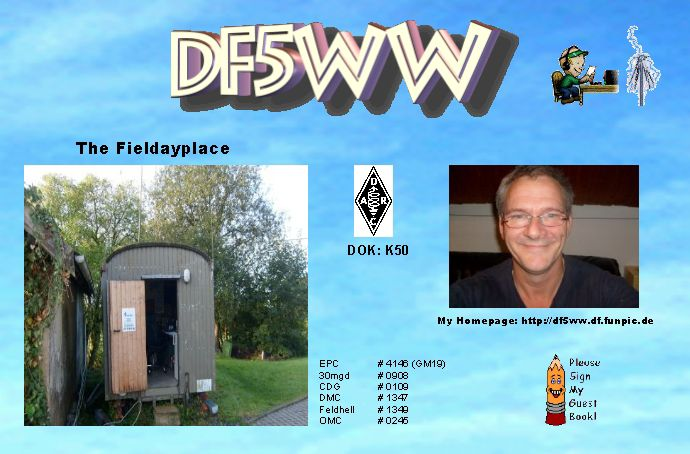 QSL Card or Station Photo of DF5WW